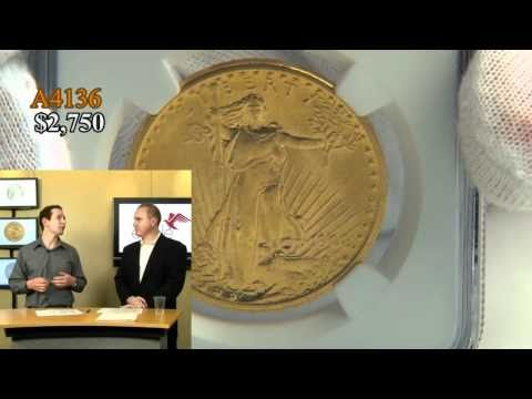 1908 No Motto $20 Gold St Gaudens