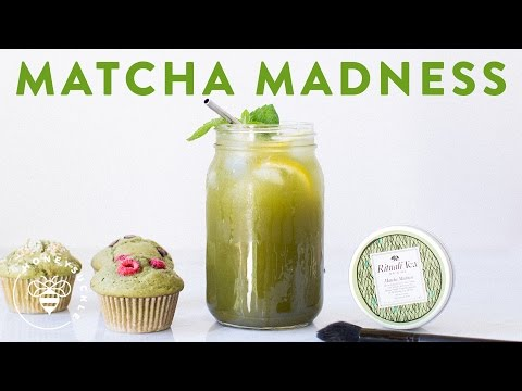 MATCHA MADNESS - Lemonade, Mask, & Muffins!