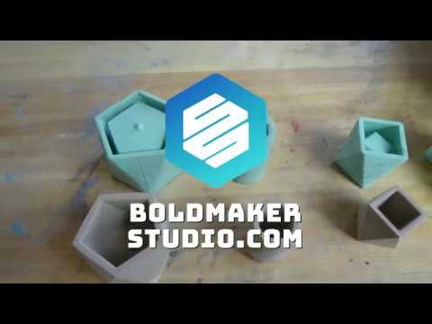 How To Mix Concrete - Bold Mold Tutorial #1