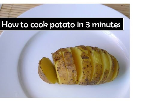 How to cook potato in 3 minutes | microwave cooking secret Tricks |Deeps kitchen