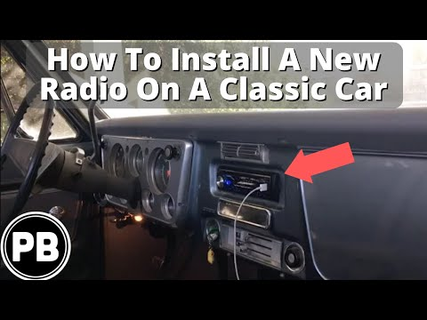 How To Install a New Radio In Any Classic Car