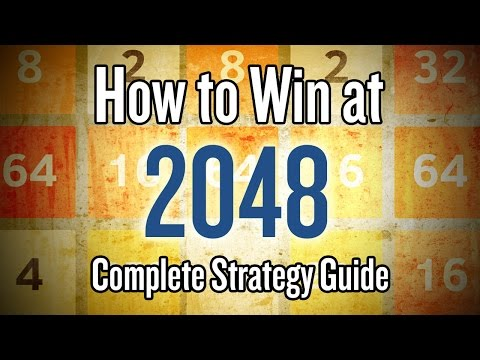 """2048 Game Strategy Guide - Tips and Tricks on How to Win the """"2048"""" puzzle game"""
