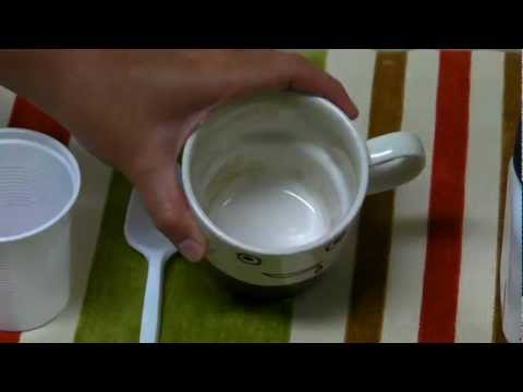 How To Clean Stained Coffee or Tea Cup