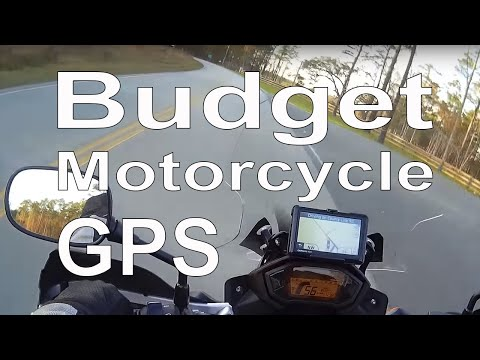 Budget Motorcycle GPS