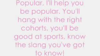 Wicked - Popular (with lyrics)
