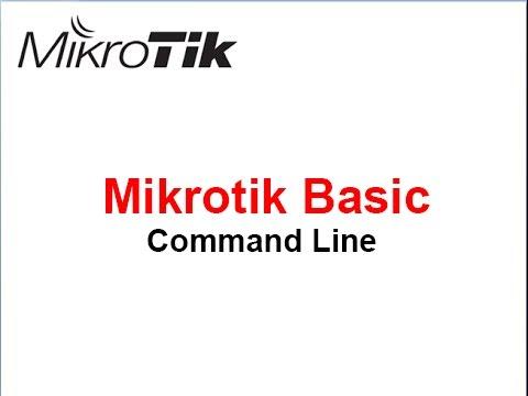 Basic Configure Mikrotik using Command Line(CLI)_Part 01