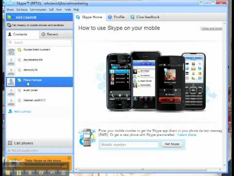 SKYPE 3 WAY VIDEO CALLING DEMO