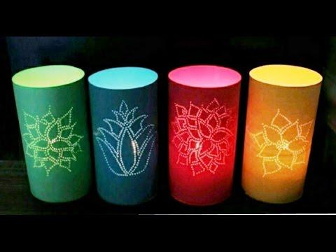 DIY Paper Cut Lamp Shade | Enjoy Crafting # 56