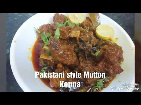 Pakistani deg style mutton korma Eid special