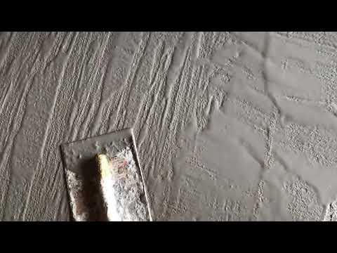 Concrete Wood Floors: How to make concrete look like wood. Using overlay, wood grain.