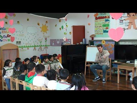 Kindergarten English Teaching Demonstration Video