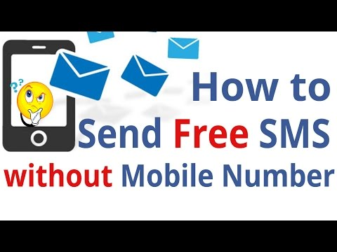 How to send free sms without mobile number