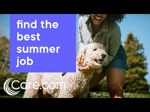 How to Find the Best Summer Jobs | Care.com