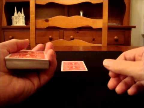 Upside-Down deck card trick