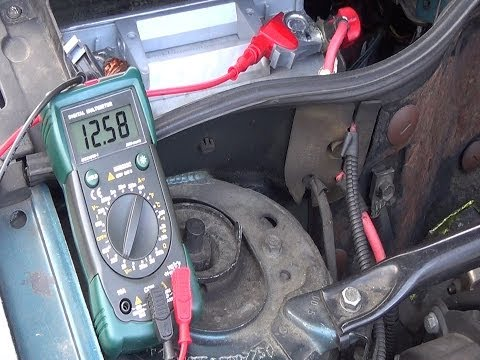 Test and troubleshoot your charging system - Battery & alternator testing