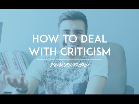 4 Tips on How to Deal with Criticism like a Boss