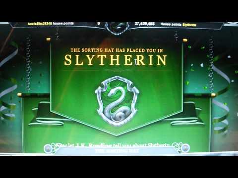 Pottermore Sorting - Slytherin