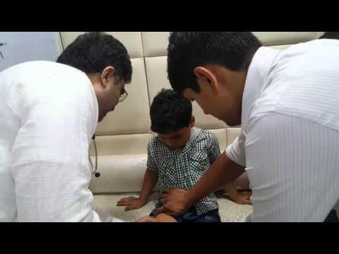 Painless Injections shot at Peace Point Hospital Varanasi