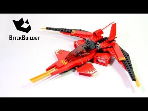Lego Ninjago 70721 Kai Fighter - Lego Speed build