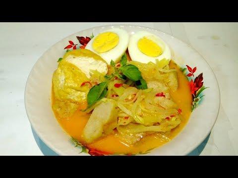 Resep Ketupat Sayur Labu Siam