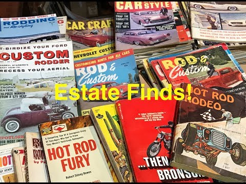 Estate Sale Treasure! going through some estate sale boxes, what will we find?!?