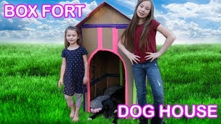 Box Fort Dog House