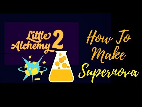 Little Alchemy 2-How To Make Supernova Cheats & Hints