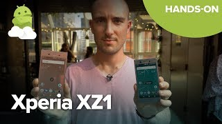 Sony Xperia XZ1 and XZ1 Compact Hands On!
