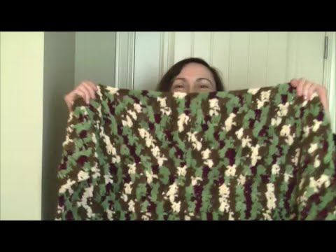 Crochet Easy Beginners Blanket