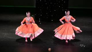 Manpreet and Naina @ Warrior Bhangra 2014