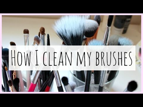 How I Clean My Brushes!