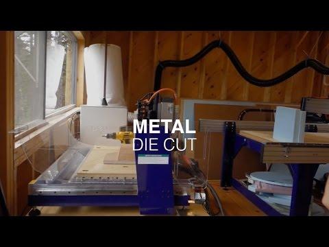 How to Create Metal Die Cut Template