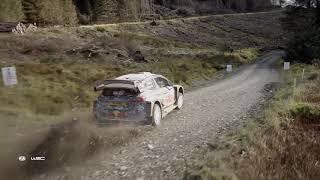 WRC - Wales Rally GB 2018 / M-Sport Ford WRT: Aerial Clip