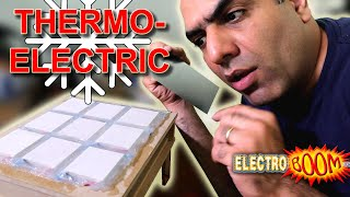 Making Cooler/Generator with Thermoelectric Device