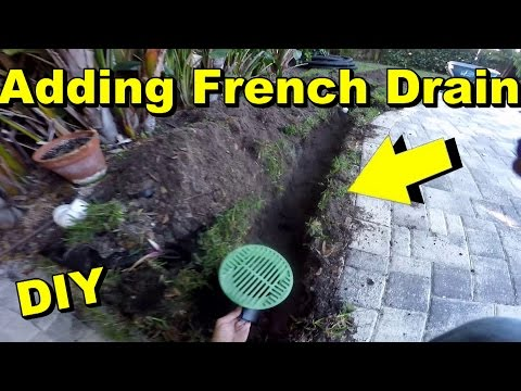 How To Extend The Yard Drain or French Drain