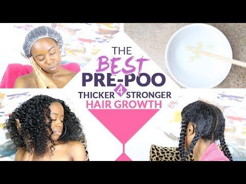 Pre-Poo Hair Growth Treatment for Natural Hair & Transitioning Hair