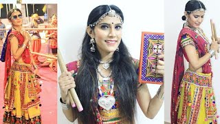 GRWM : Navratri Makeup Look | Simple Look for Navratri | Indian Look