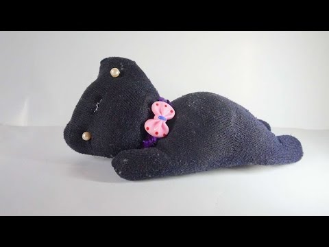 How To Create A Cute Black Cat Plush - DIY Crafts Tutorial - Guidecentral