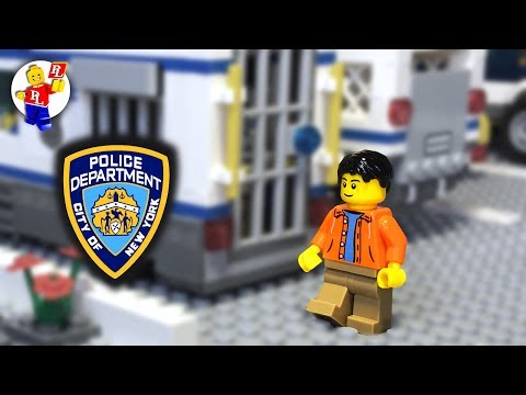 Lego Police Station Functions 🔴 Lego City Police