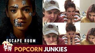 Escape Room (Official Trailer) - Nadia Sawalha & Family Reaction