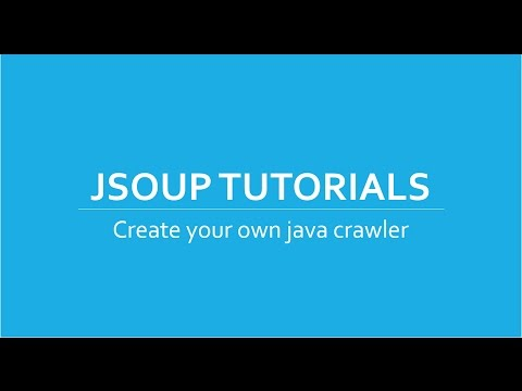 Web Crawler/Scraper in Java using Jsoup Tutorials # 6 | set jsoup user agent