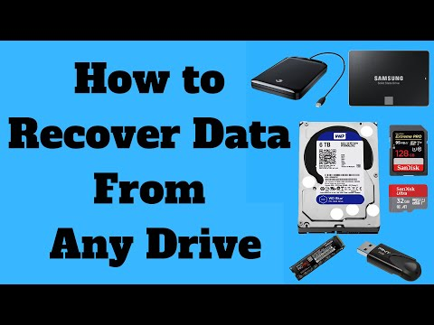 How to Recover Data From Any Drive
