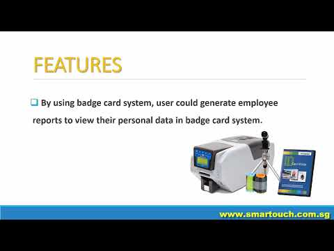 Access Control System : Badge Card Features and Advantages (MIFARE, RFID, Touch N Go)