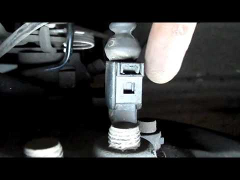 VW Caddy Repair Tips: How to remove the wheel sensor connector?