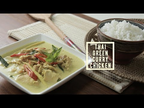Creamy Thai Green Curry Chicken