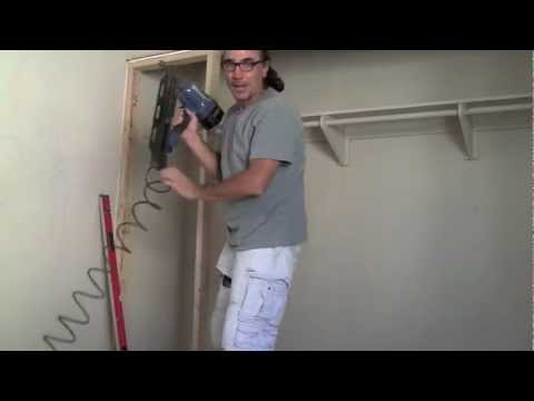 how to frame and drywall.