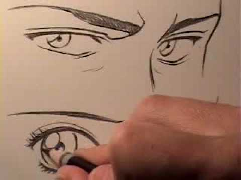 How to Draw Manga Eyes: Male Vs. Female