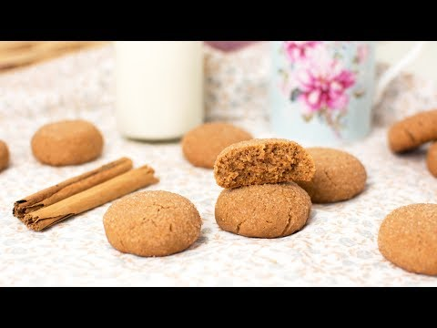Cinnamon Cookies - How to Make Brown Sugar & Cinnamon Cookies