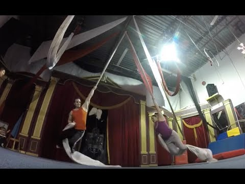 Wonderful World of Circus REVIEW   -  adult beginner class -  activities do do outside toronto