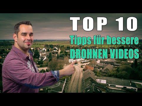 TOP 10 🎬 Tipps für professionelle Drohnen Videos